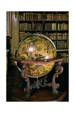 Celestial Globe with the Coat of Arms of Nicolas Fouquet Giclee Print by Vincenzo Maria Coronelli