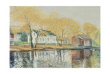 Richmondtown Pond, Richmondtown, Staten Island, 1995 Giclee Print by Anthony Butera