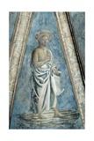 St. John the Baptist, Fresco Giclée-tryk af Andrea Del Castagno