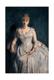 Portrait of Mrs. Gabriella Martinolo Faccio, 1870 - 1895 Lámina giclée por Demetrio Cosola