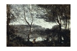 Ville D'Avray, 1870 Giclee Print by Jean-Baptiste-Camille Corot