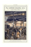 Arrival of a Theatre Train at Victoria Station, London Giclee Print by Philip Dadd