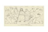 Furies, Cerberus, Pluto, Proserpine, Harpies, Death Giclee Print by John Flaxman