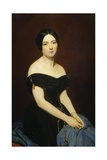 Portrait of Madame Edmond Caillard, 1842 Giclee Print by Ary Scheffer