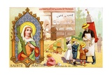 Saint Martha, Patron Saint of Café Workers and Soft Drink Sellers, C.1910 Giclee Print