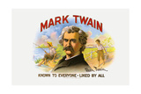 Mark Twain, Printed by Wolf Bros. and Co., C.1920S Giclee Print by  American School