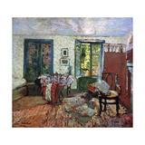 Annette in an Interior; Annette Dans Un Interieur, C.1903 Giclee Print by Edouard Vuillard