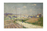 Spring in Ile De France; Printemps En Ile De France, 1916 Giclee Print by Gustave Loiseau