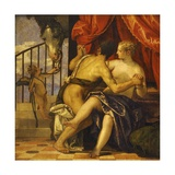 Mars and Venus with Love Giclee Print by Paolo Veronese