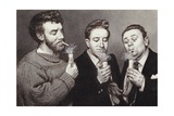 The Goons: Spike Milligan, Peter Sellers, Harry Secombe Giclee Print by Pat Nicolle