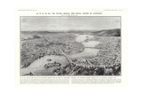 View of Canberra, Proposed Federal Capital of Australia, 1913 Giclee Print