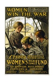 Women are Working Day and Night to Win the War, Pub. 1915 Giclee Print