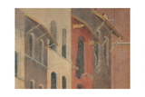 Effects of Bad Government in the City, 1338 - 1339 Giclee Print by Ambrogio Lorenzetti