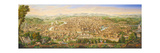 Panoramic View of Rome from the Janiculum Hill, 1800-25 Giclee Print by Antonio Testa