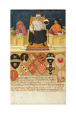 Good Government in the Public Finance Office, 1474 Giclee Print by Benvenuto Di Giovanni