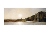Sunrise on the Banks of the Durance at Mirabeau, 1865 Giclee Print by Paul Camille Guigou