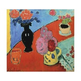 Still Life with Vase and Jug Giclee Print by Alexei Jawlensky