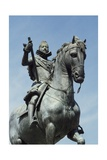Equestrian Statue of Philip III, 1616 Giclee Print by Pietro Tacca