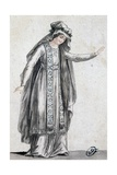 Sketch for Stage Costume for Iphigenia in Tauris Giclee Print by Jean Racine