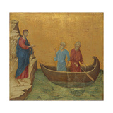 The Calling of the Apostles Peter and Andrew, 1308/1311 Giclee Print by Duccio Di buoninsegna
