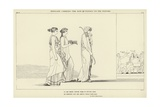 Penelope Carrying the Bow of Ulysses to the Suitors Giclee Print by John Flaxman