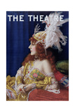 Cover of 'The Theatre' Featuring Gertrude Hoffmann, August 1911 Giclee Print
