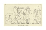 Diomed and Ulysses Returning with the Spoils of Rhesus Giclee Print by John Flaxman