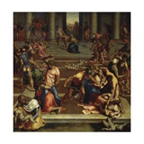 Massacre of Innocents, 1557 Giclée-Druck von Daniele Da Volterra