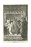 He Received the Crown of Thorns with Great Devotion Giclee Print