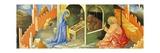 Nativity of Jesus, Section of Predella Giclée-tryk af Lorenzo Monaco