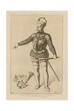 Ferdinand, Archduke of Austria, Brother of Charles V Giclee-trykk av Raphael Jacquemin