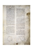 Geometry Studies, from Codex Ashburnham 361 Giclee Print by  Leonardo da Vinci