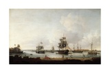 Loading of Canons Portsmouth Harbour Giclee Print by Dominic Serres