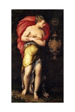 Allegory of Patience Giclee Print by Girolamo Siciolante da Sermoneta