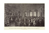 King William of Prussia Proclaimed Emperor of Germany Giclee Print by Anton Alexander von Werner