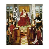 Virgin of Catholic Monarchs, 1490-1495 Giclee Print by Fernando Gallego