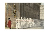The Confraternity of Brotherhood Giclee Print by Antoine Jean-Baptiste Thomas