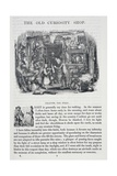 The Old Curiosity Shop, Novel Giclee Print by Charles John Huffam Dickens