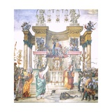 St Philip Driving Dragon from Temple of Hierapolis Giclee Print by Filippino Lippi