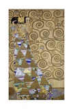 Expectation, Preparatory Cartoon for the Stoclet Frieze, 1905-1909 Giclee Print by Gustav Klimt