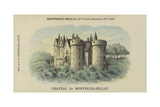 Chateau De Montreuil-Bellay, Montreuil-Bellay, Maine-Et-Loire Giclee Print
