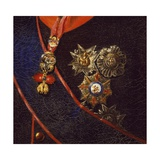 Portrait of Francis I of Bourbon, Detail Giclee Print by Giuseppe Cammarano