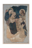 Madonna and Child with St John the Baptist and a Horseman Giclee Print by Pietro Lorenzetti
