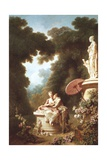 Progress of Love, Love Letter, 1771-1773 Giclee Print by Jean-Honoré Fragonard