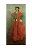 The Artist's Wife Dressed as a Spanish Woman, C.1901 Giclee Print by Alexej Von Jawlensky
