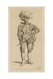 Albert, Count of Wallenstein and General of the Holy Empire, 1629-34 Giclee-trykk av Raphael Jacquemin