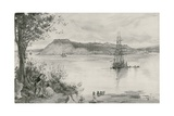 View of the Town and Fortress of Quebec. A.D. 1759 Giclee Print by William Heysham Overend