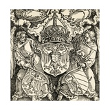 Coat of Arms of the Germanic Empire Giclee Print by Albrecht Dürer