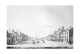View of the Principal Street of Stockton in the County of Durham, 1796 Giclee Print by Haynes King