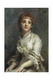 Portrait of Mrs Pisani Dossi, 1880 Giclee Print by Daniele Ranzoni